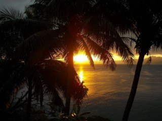 Sunset from tonight in Savusavu, Fiji.