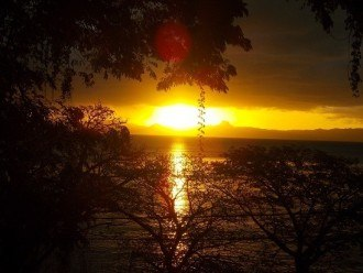 Another Savusavu sunset from across the bay.