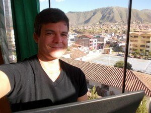 Back in April of 2013 I had quite the home office view in Cusco, Peru....the mighty Andes Mountains. Who knew I'd be coking out in a few days....well, kinda of coking out.