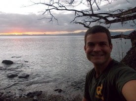 Me on the bay in Savusavu. That Ryan Biddulph sure knows how to live.