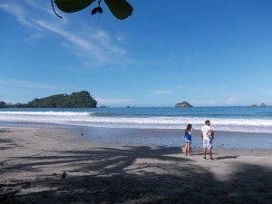 Throwback picture time. Our trip from June, 2013 in Manuel Antonio. The mighty Pacific.