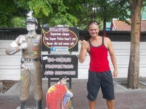 RB in Bangkok with The Law.