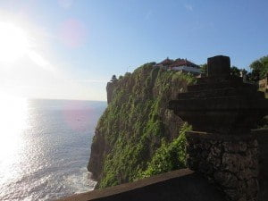 How is that for a dramatic view? Kelli took this picture recently at Uluwatu, Bali.