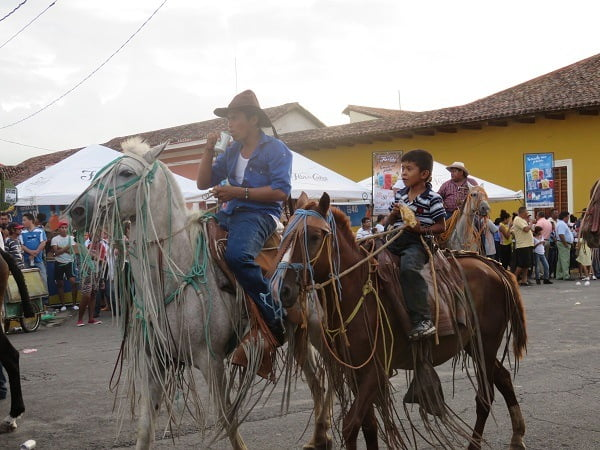 Horse festival here in Granada, Nicaragua. Lots of beer. And horses.