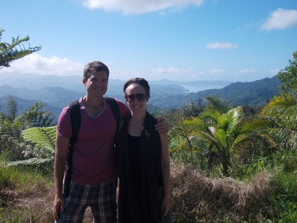 Kelli and I in Savusavu, Fiji. One of the most beautiful places on earth.