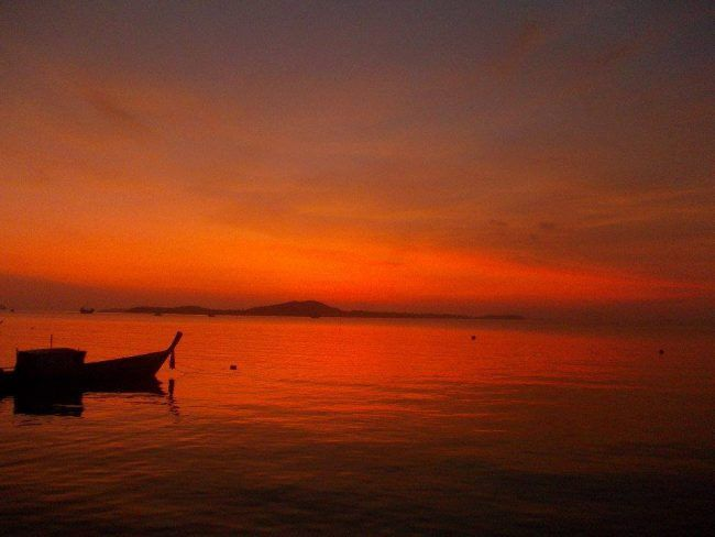 I photographed this image from the back deck/dock/porch when we lived in Koh Lanta, Thailand.