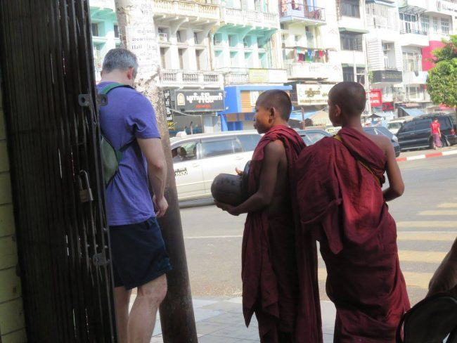 do you give money to beggars during your world travels