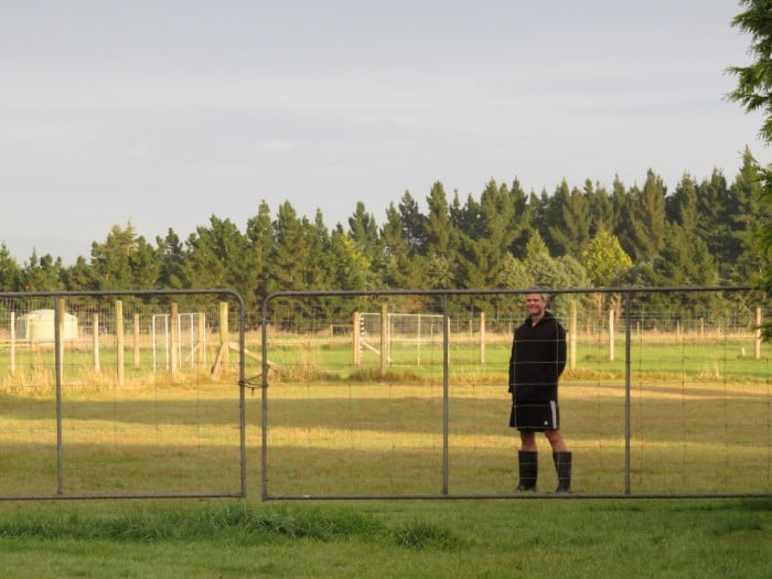 Life on the farm in Timaru, New Zealand. So...I put in work on the frontier, but how much work should you put in daily to become a full time travel blogger?