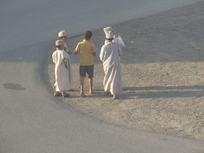 The Nizwa Little Rascals? Maybe. A few kids in the neighborhood here in Nizwa, Oman have done the Ring and Run thing a few times. I find it funny. Jan wrote a clever post explaining why you want to avoid the Ding Dong Ditch strategy for your blog.
